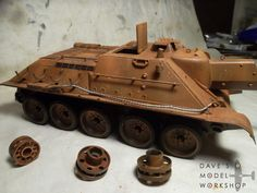 Video tutorial: how to make tow cables for model tanks