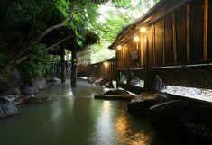 九州 - 熊本県のおすすめ日帰り温泉&立ち寄り温泉 - ふもと旅館 - 露天風呂