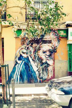 Calle Amparo, Madrid.
