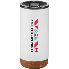 Branded insulated mug with cork. On trend and on budget for your next event! Branded Gifts, Travel Mug, Cork, Promotion, Swag, Budget, Mugs, Tableware, Products