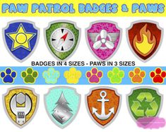 Paw Patrol Party Photo Booth Props Printable 7 Paw Patrol