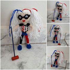 Harley Quinn #amigurumi Harley Quinn, Free, Amigurumi, Harley Quin