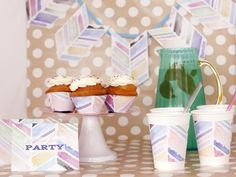 Make Your Own Watercolor Party Supplies (http://www.hgtv.com/handmade/make-your-own-watercolor-party-supples/pictures/index.html?soc=Pinterest)