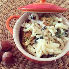 Receta de Mac and Cheese con coliflor y kale