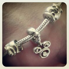 5.3 Something I Wore Today. Love my charm bracelet! #photoadayMay
