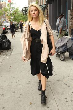 Amber Heard out in Soho, May 8th