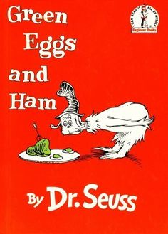 best bedtime book - green eggs and ham