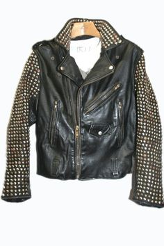 studded leather jacket bess - Google Search
