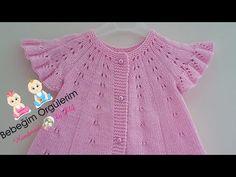 Fırfırlı Şirine Yeleği - YouTube Baby Knitting Patterns, Baby Cardigan Knitting Pattern, Vest Pattern, Knitting For Kids, Crochet For Kids, Knit Crochet, Cardigan Design, Youtube Kanal, Baby Vest