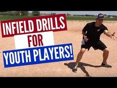 Little League Baseball Practice Plans: Fun Youth Baseball Fielding Drills - zoe Baseball Hitting Drills, Softball Drills, Softball Coach, Basketball Shooting, Girls Softball, Baseball Injuries, Little League Baseball, Baseball Players, Baseball Coaches