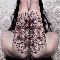 Mandala Forearm Tattoo - 30  Intricate Mandala Tattoo Designs  <3 !