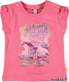 Babyface T-shirt jersey photoprint roze - Meisjes T-shirts korte mouw en Tops €19,95