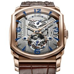 A tribute to motor sports and to elegance Chopard L.U.C Engine One Tourbillon in rose gold (See more at: http://watchmobile7.com/articles/chopard-luc-engine-one-tourbillon-rose-gold) (1/3) #watches #chopard @Chopard