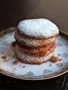 Lebkuchen (German fruit and spice cookies) get their soft, chewy texture from the addition of honey.