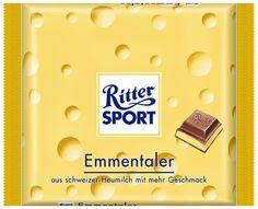 RITTER SPORT Fake Schokolade Emmentaler
