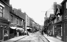 Macclesfield, Chestergate 1898, from Francis Frith