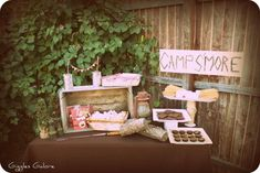 Camp S'mores Birthday | CatchMyParty.com