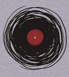 Spinning Vinyl, by Denis Marsili... T-shirt graphic for Anthony