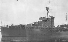 Italian built Paraguayan gunboat.  Chaco War (1932-1935)
