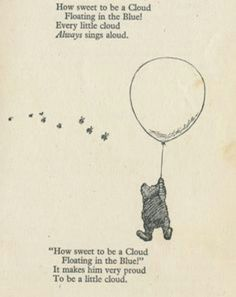 Winnie the Pooh - A. Milne-cute to frame in a kid's room Christopher Robin Quotes, Luck Quotes, House At Pooh Corner, Miss You Mom, The Last Song, Winnie The Pooh Friends, Little Things Quotes, Yours Lyrics, Pooh Bear