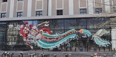 """NYCHOS   """"dissection of the little mermaid"""" Linz 2014"""