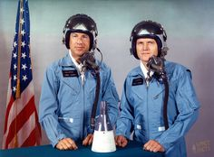 Gemini 7 Astronauts...Jim Lovell and Frank Borman.