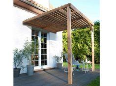 #terrasse #jardin #pergola #bois Photo : Castorama