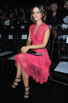 Rachel Bilson at Christian Dior. I am in love with her dress! And she's gorgeous!