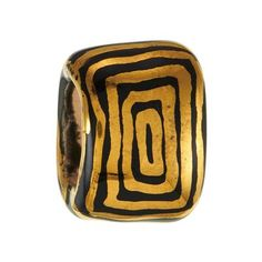 Squares Kazuri Bead For Licorice Leather -  Kazuri beads are made from clay dug by hand from the rich earth of Mount Kenya, then hand-shaped and painted, one carefully-crafted piece at a time. Buying these beads enhances the lives of disadvantaged families of the Kikuyu tribe in Kenya and helps promote fair trade in Africa.