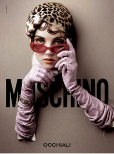 Heather Marks for Moschino Spring 2004.  Photographed by Michelangelo Di Battista.