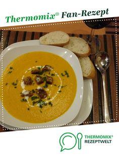 Möhren-Ingwer-Cremesuppe von Maxi95. Ein Thermomix ® Rezept aus der Kategorie Suppen auf www.rezeptwelt.de, der Thermomix ® Community.