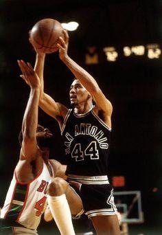 George Gervin San Antonio Spurs