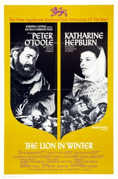 The Lion in Winter (One-sheet movie poster; Turner Classic Movies)