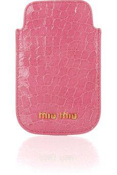 Miu Miu iPhone Case