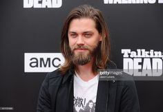 Actor Tom Payne attends the live, 90-minute special edition of 'Talking Dead' at Hollywood Forever on October 23, 2016 in Hollywood, California.