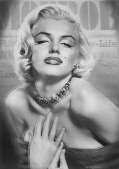 Marilyn Monroe 3D Poster