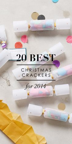 Wee Birdy's round-up of the 20 Best Christmas Crackers in the World, via WeeBirdy.com. Now in it's 7th year! #crackers #Christmas