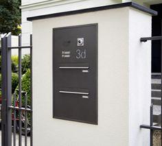 Mauerdurchwurf-Briefkastenanlage