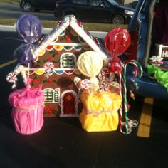 Candy land for Trunk or treat
