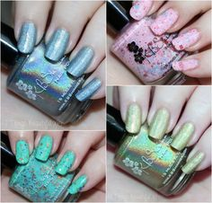 KBShimmer Spring 2015 Swatches Review- see them all on All Things Beautiful XO