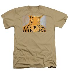 Purchase a Patrick Francis Designer heathers Sand t-shirt featuring the image of Cheetah 2014 by Patrick Francis.  Available in sizes S - XXL.  Each t-shirt is printed on-demand, ships within 1 - 2 business days, and comes with a 30-day money-back guarantee.