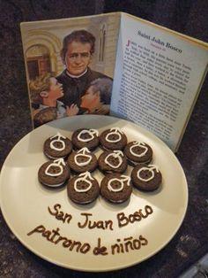 Familia Católica: Galletas para cebrar a San Juan Bosco - 31 de enero