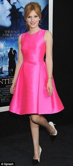 Bella Thorne + dress
