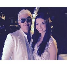Night party again w/ raline shah 2015,in Indonesia.