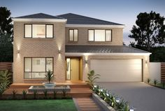 Clarendon Home Designs: Wentworth 35 - Facade Option 2. Visit www.localbuilders.com.au/builders_nsw.htm to find your ideal home design in New South Wales