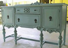 Mod Vintage Life: Jacobean Buffets or Sideboards ... want a sideboard like this...now I know what the style is called.