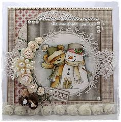 Would love to receive a card like this.. New LOTV release by Becky