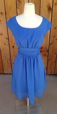 SUCH a pretty blue....classic dress to wear for anything! From Pins and Needles of Urban Outfitters