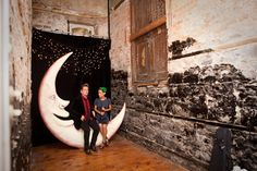 """A Whimsical """"Paper Moon""""-Inspired Wedding at Berkeley Church"""