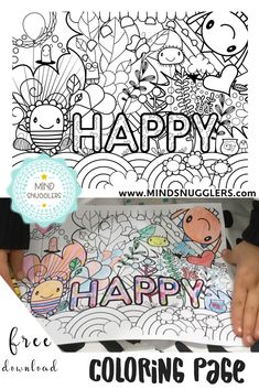 FREE Mindful Coloring Page For Kids Color Me Happy